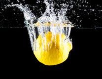 Plaska för citron royaltyfri foto