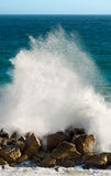 Plaska för våg - Liguria Italien Royaltyfria Foton