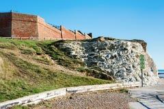 Plaska punkt, Seaford, East Sussex arkivfoto