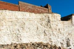 Plaska punkt, Seaford, East Sussex arkivbilder