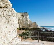 Plaska punkt, Seaford, East Sussex arkivfoton