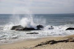 plaska wave Royaltyfri Foto
