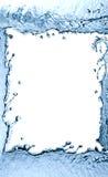 Plaskande vattenram Arkivfoton