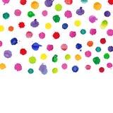 plaskar vattenfärg Royaltyfria Bilder