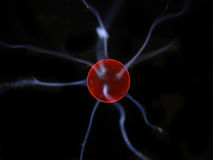 plasma électrique de bille Photos libres de droits