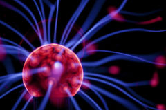 Plasma ball. Stock Photo