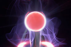 Plasma ball Royalty Free Stock Photography