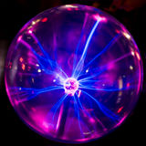 Plasma ball stock image