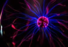 Plasma ball. Royalty Free Stock Image