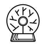 Plasma ball symbol vector illustration