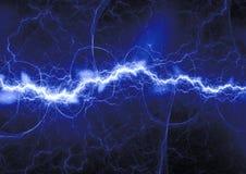 Plasma bleu, abstrait illustration de vecteur
