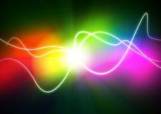 Plasma colorido Imagem de Stock Royalty Free