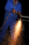 Plasma Cutter #3 Royalty Free Stock Photo