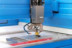 Plasma cutter. CNC machine in workshop Royalty Free Stock Photos