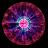 Plasma eye royalty free stock photo