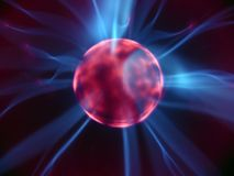 plasma för 8 lampa Arkivbild