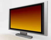 Plasma-Fernsehapparat 005 Lizenzfreie Stockfotos