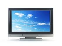 Plasma Fernsehapparat lizenzfreie abbildung