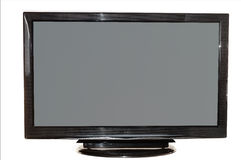 Plasma Flat TV Stock Photo