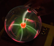 Plasma globe Royalty Free Stock Photography