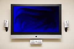 Plasma HDTV Royalty Free Stock Photo