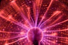 Plasma-Kugel Stockbild