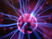 Plasma lamp Stock Photography