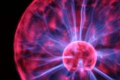 Plasma lamp Royalty Free Stock Photo