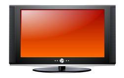 Plasma LCD-Fernsehapparat Stockfotos