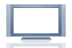 Plasma LCD HDTV Display Stock Image
