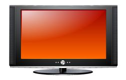 Plasma LCD TV libre illustration