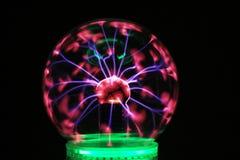 plasma lichte decoratie stock foto's