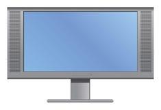 Plasma ou televisão do LCD Imagem de Stock Royalty Free