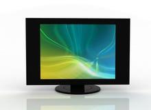 Plasma piano dell'affissione a cristalli liquidi della TV Fotografia Stock