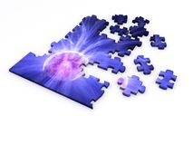 Plasma Puzzle Royalty Free Stock Photos