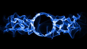 Plasma ring loop animation vector illustration