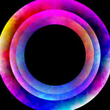 Plasma Rings Stock Image