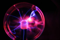Plasma sphere stock photo