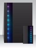 Plasma stationary business set Stock Images