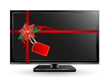 Plasma television Royalty Free Stock Photos