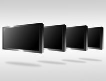 Plasma television Stock Photo