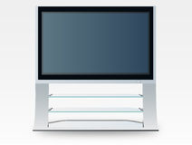 Plasma television (vector) Royalty Free Stock Image