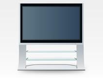 Plasma television (vector). Illustration of a plasma television stock illustration