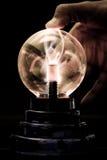 Plasma Tesla Kugel lizenzfreie stockfotografie