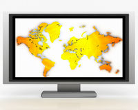 Plasma Tv 007 Royalty Free Stock Photos