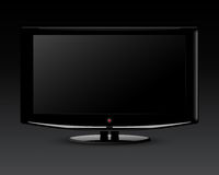 Plasma TV Royalty Free Stock Image