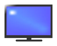 Plasma TV illustration libre de droits
