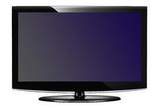 Plasma TV Fotografia Stock