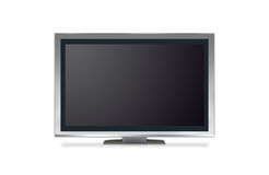 Plasma tv Royalty Free Stock Images