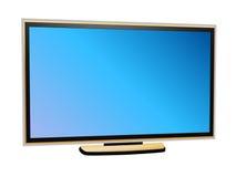 Plasma TV Immagini Stock